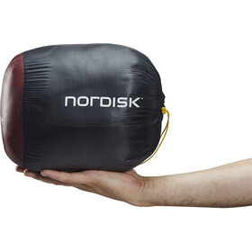 Nordisk Oscar -2° Curve Slaapzak L, rio red/mustard yellow/black